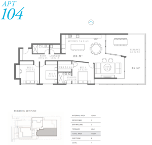 104 Apartment Map