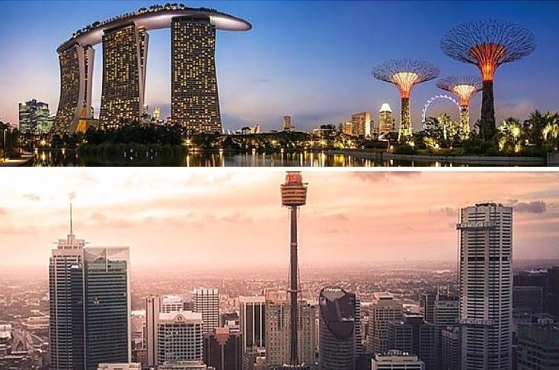 Sydney vs Singapore