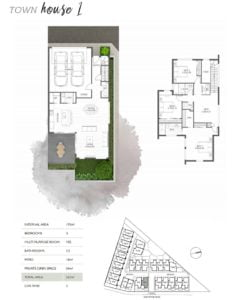 SilverGum Townhouse Map