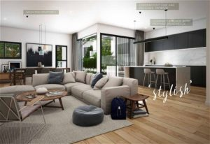 Living Area of Silverton