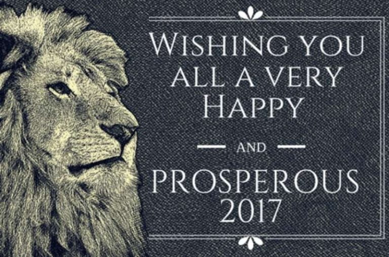 Wishing you all a very Happy and Prosperous 2017