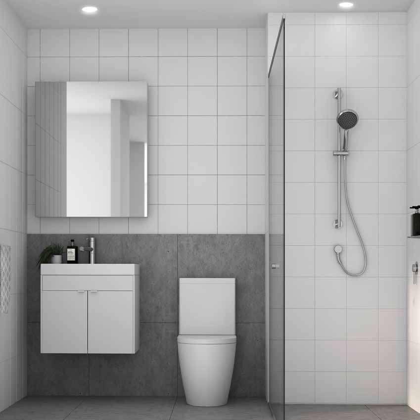 bathroom at Curio