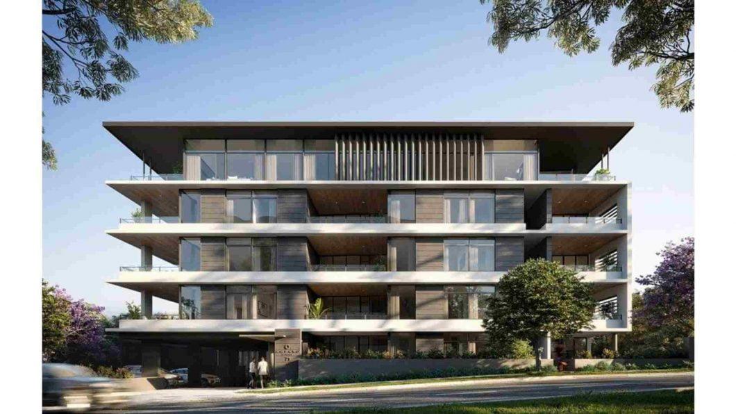 residential building at Taringa QLD