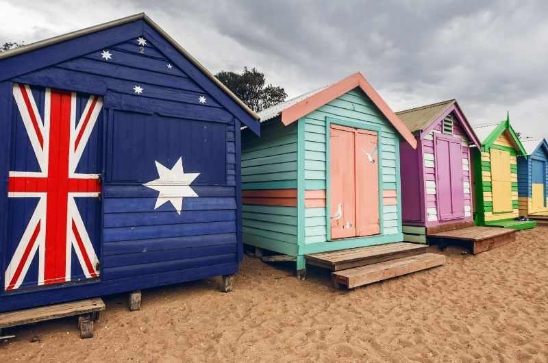 colourful beach house by melbourne beach