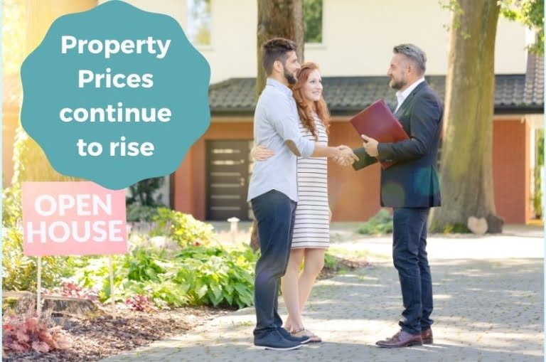 Property Prices Rise As Markets Favour Sellers