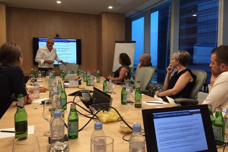 Dr Andrew in Meeting Room