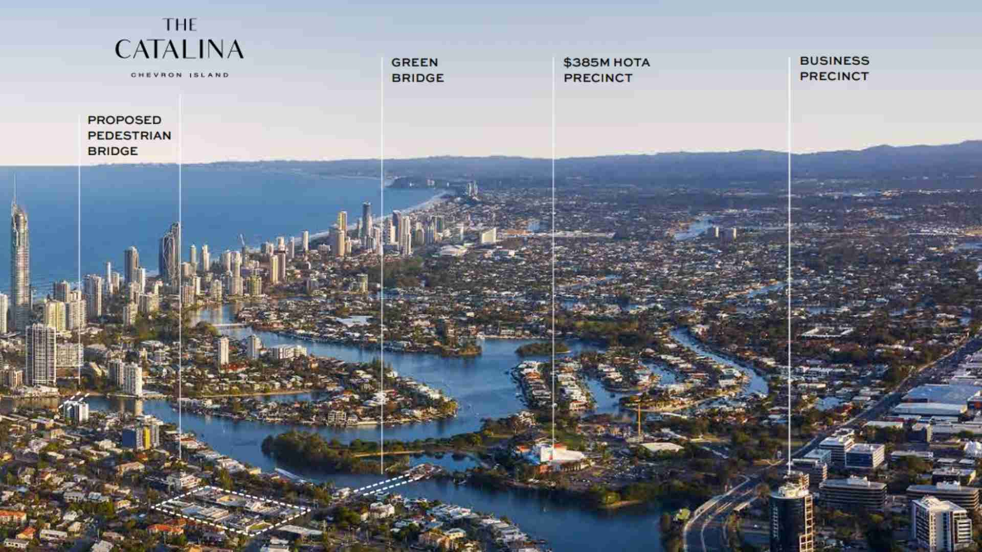 map of Catalina - 258 Stanhill Drive, Gold Coast surrounding