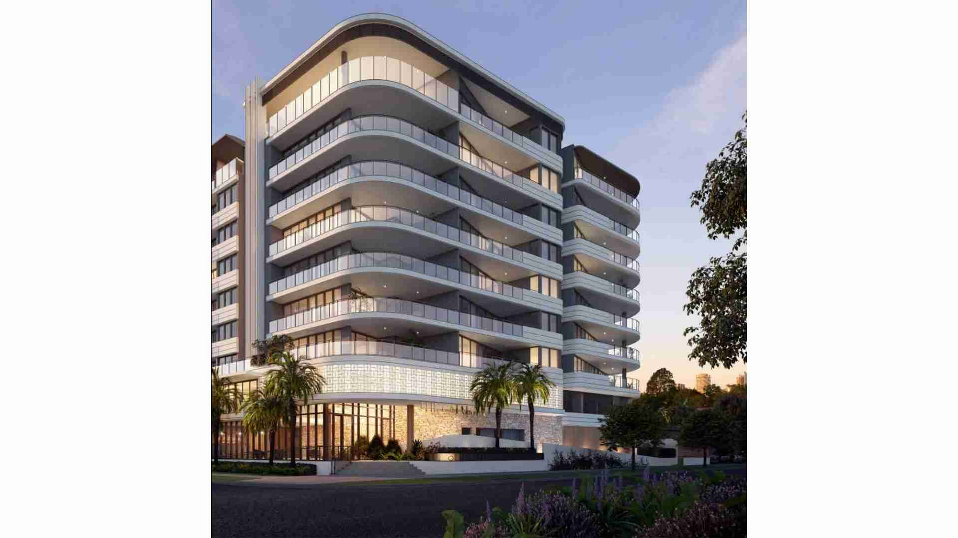 sleek and modern design apartment building on stanhill drive